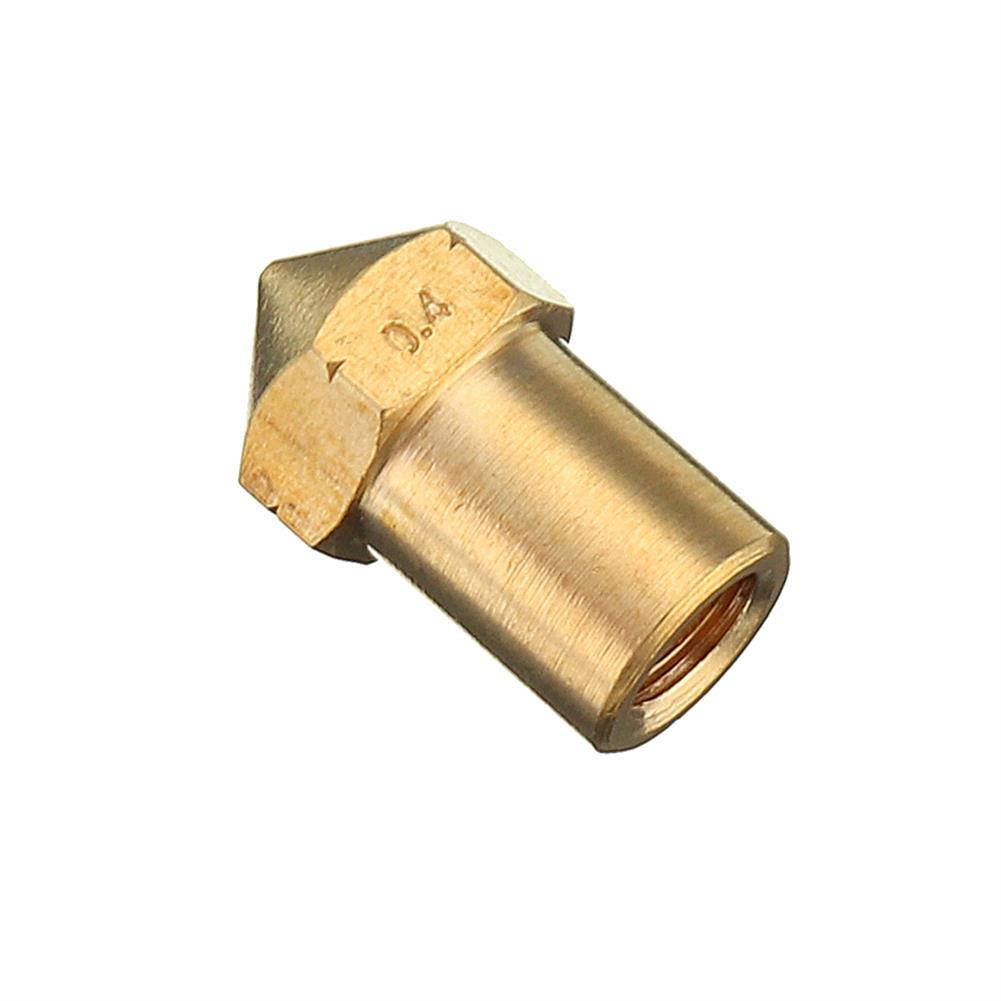 3d-printer-accessories 0.4mm Creatbot Copper M6 Thread Extruder Nozzle for 1.75mm Filament 3D Printer Part HOB1363412 1