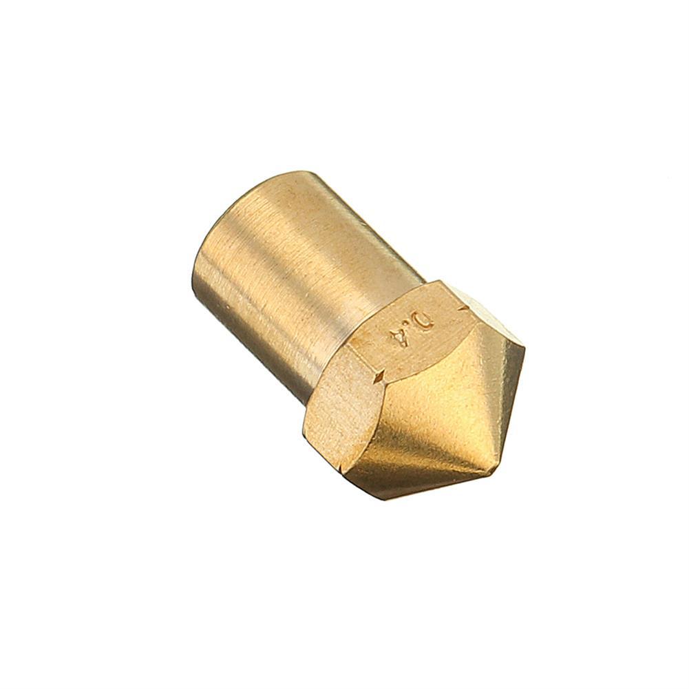3d-printer-accessories 0.4mm Creatbot Copper M6 Thread Extruder Nozzle for 1.75mm Filament 3D Printer Part HOB1363412 2 1