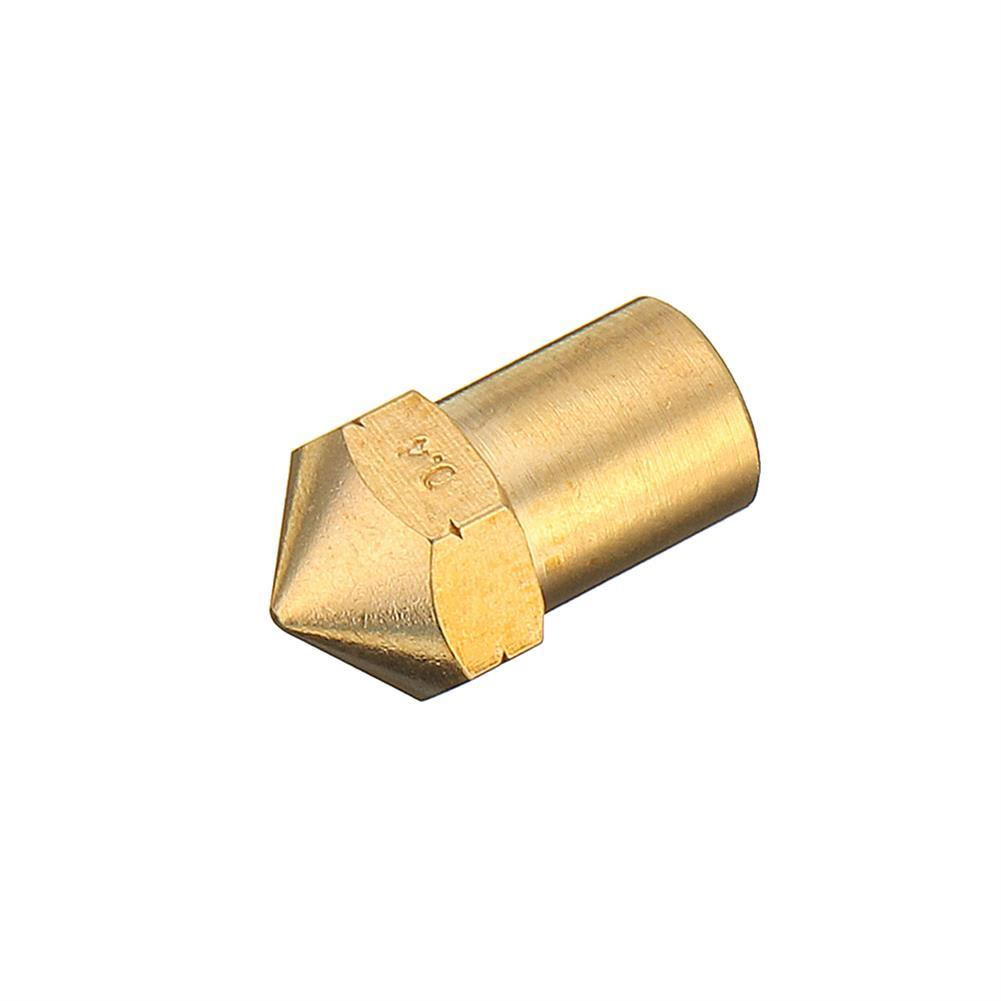 3d-printer-accessories 0.4mm Creatbot Copper M6 Thread Extruder Nozzle for 1.75mm Filament 3D Printer Part HOB1363412 3 1