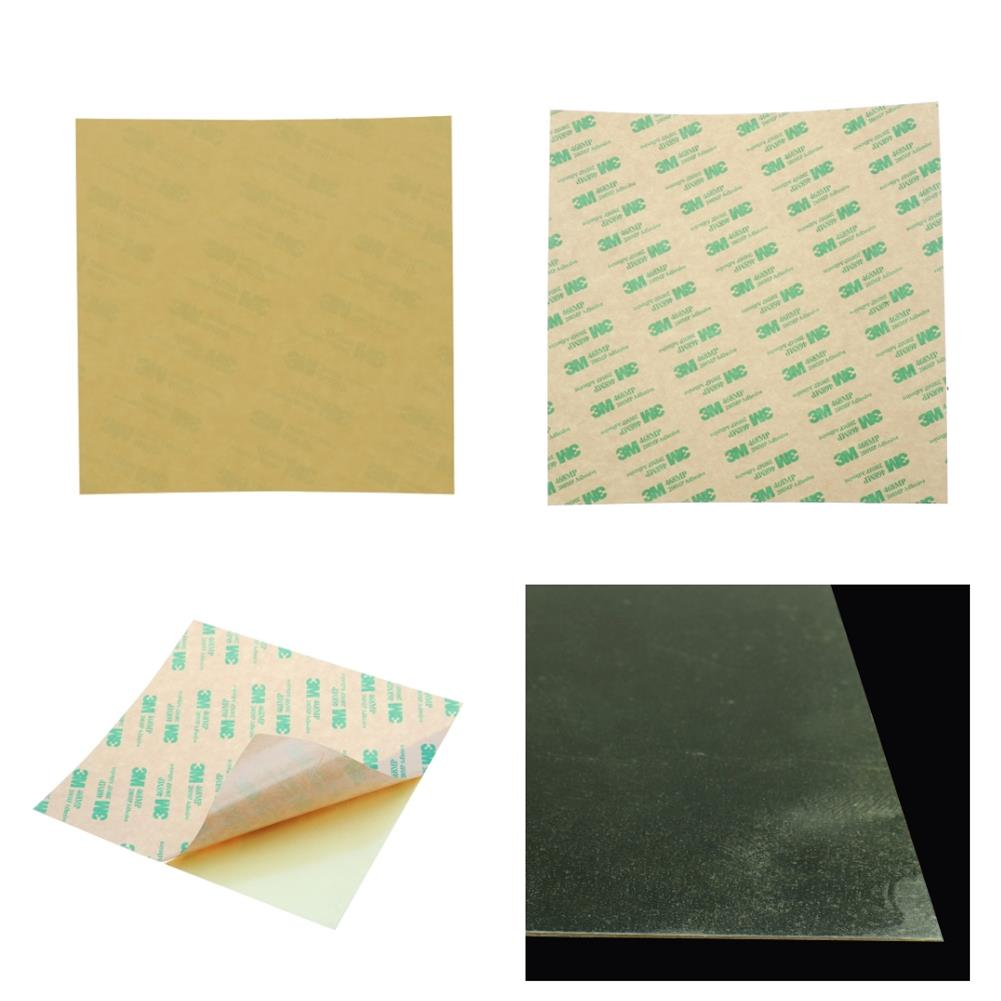 3d-printer-accessories 220*220*0.2mm Polyetherimide PEI Sheet with 3M Glue 3D Printer Part HOB1364922 1