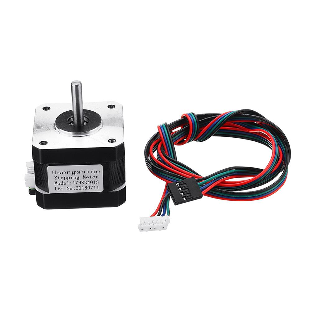 3d-printer-accessories 17HS3401S Nema17 4-lead 1.3A 42BYGH Stepper Motor for 3D Printer CNC Part HOB1366231 1 1