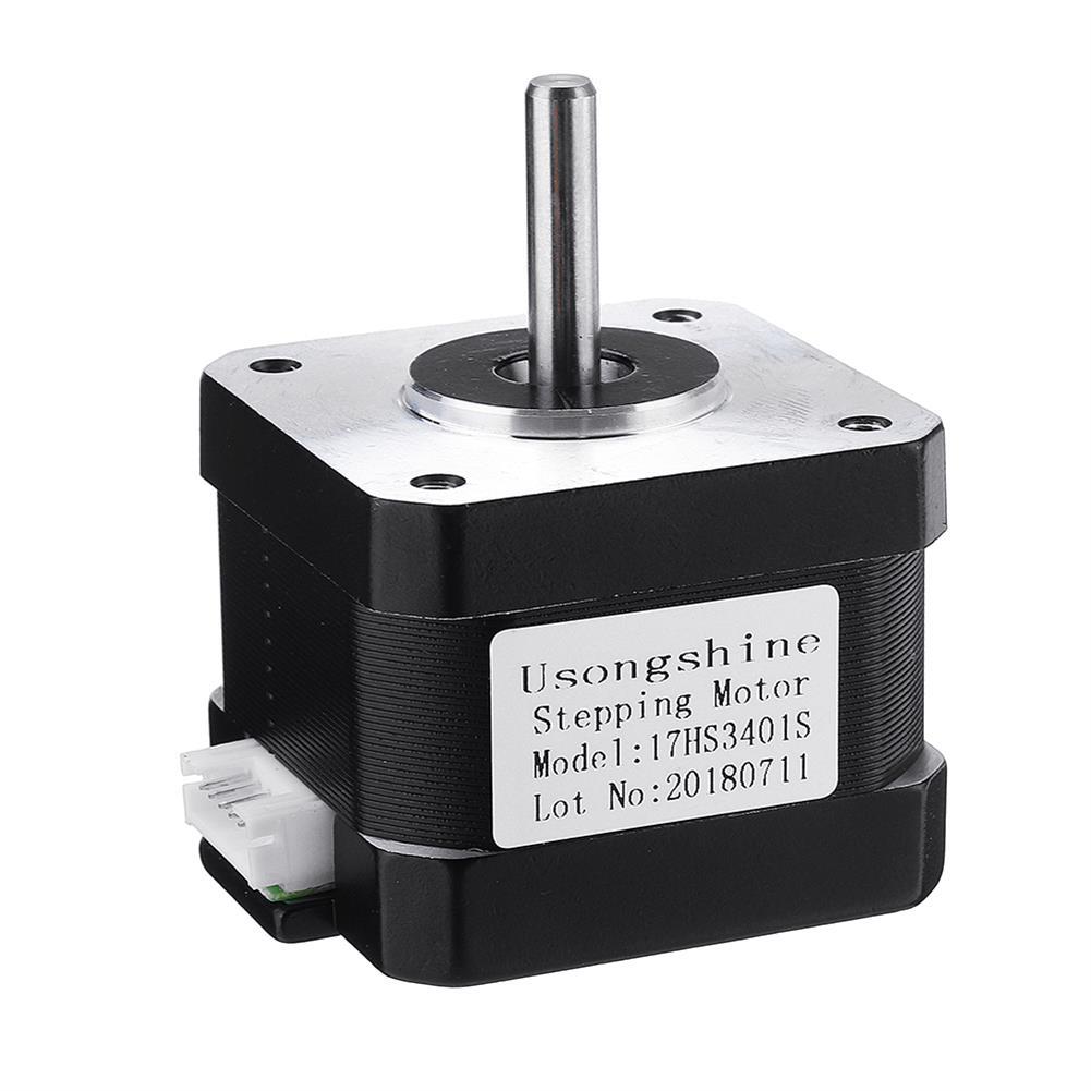 3d-printer-accessories 17HS3401S Nema17 4-lead 1.3A 42BYGH Stepper Motor for 3D Printer CNC Part HOB1366231 2 1
