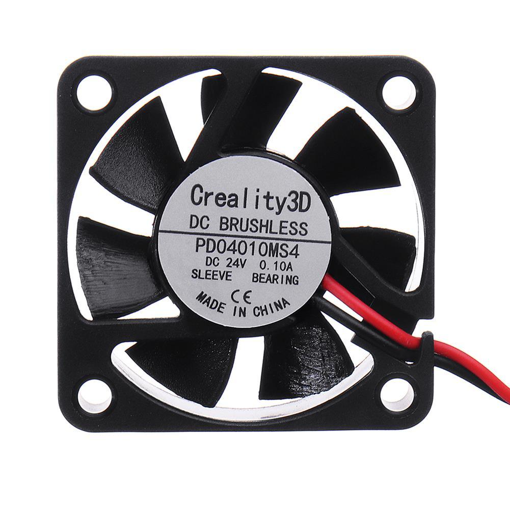 3d-printer-accessories 10pcs Creality 3D 40*40*10mm 24V High Speed DC Brushless 4010 Cooling Fan for Ender-3 3D Printer HOB1367405 2 1