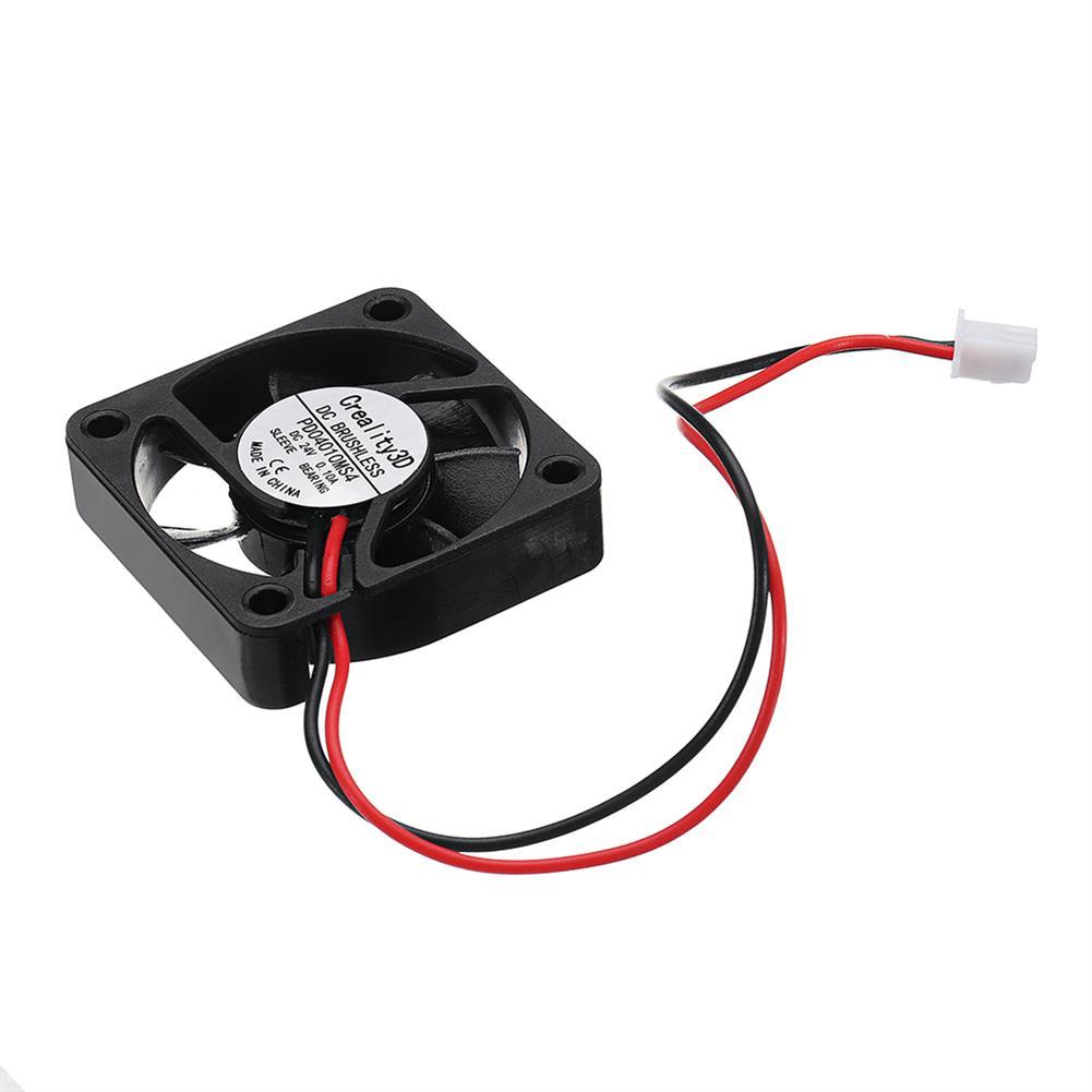 3d-printer-accessories 5pcs Creality 3D 40*40*10mm 24V High Speed DC Brushless 4010 Cooling Fan for Ender-3 3D Printer HOB1367407 1 1