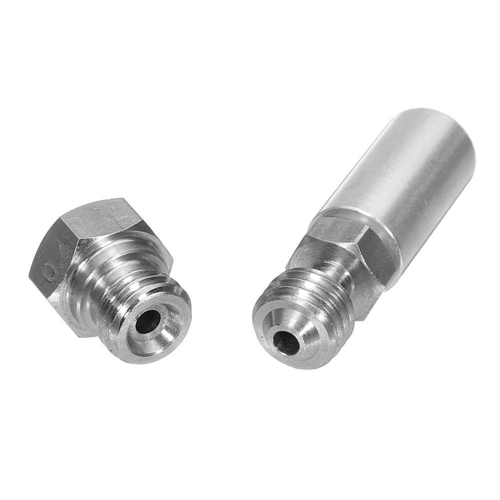 3d-printer-accessories 3Pcs MK10 All Metal Hotend Upgrade Kit 1.75mm 0.4mm Nozzle for 3D Printer HOB1368401 2 1