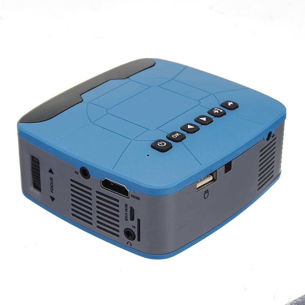 projectors-theaters UNIC U20 LCD Projector 500:1 Home Beamer 320x240 TV Conection Prejector HOB1372070 1