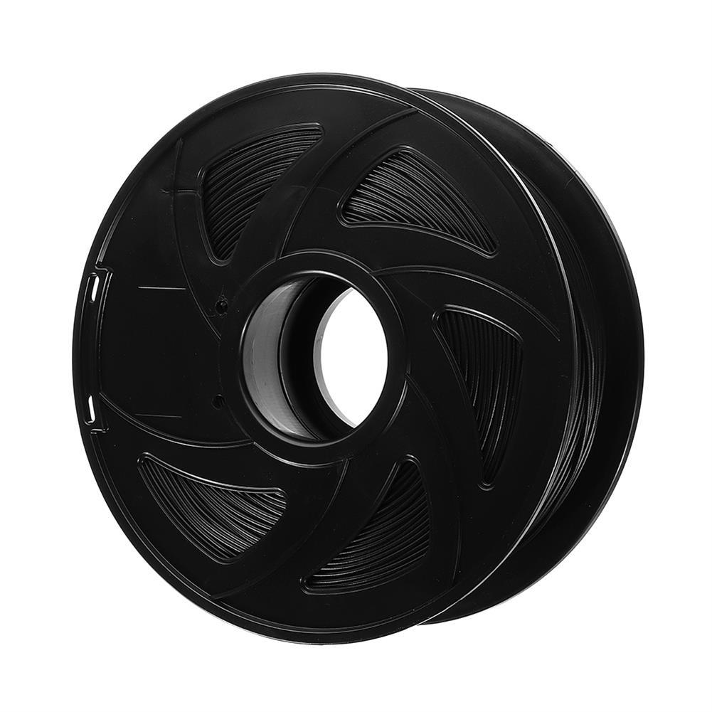 3d-printer-filament XVICO 1.75mm 1KG/Roll Black Color PLA Carbon Fiber Filament for 3D Printer HOB1376714 1