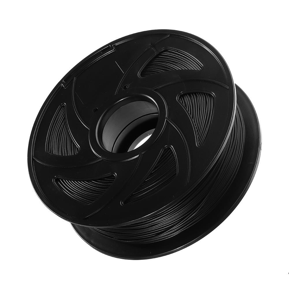 3d-printer-filament XVICO 1.75mm 1KG/Roll Black Color PLA Carbon Fiber Filament for 3D Printer HOB1376714 1 1