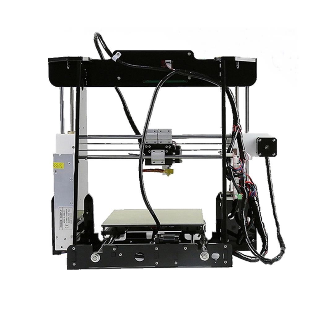3d-printer 220W High Precision DIY 3D Printer Kit 220*220*240mm Printing Size 1.75mm 0.4mm Nozzle HOB1390828 1