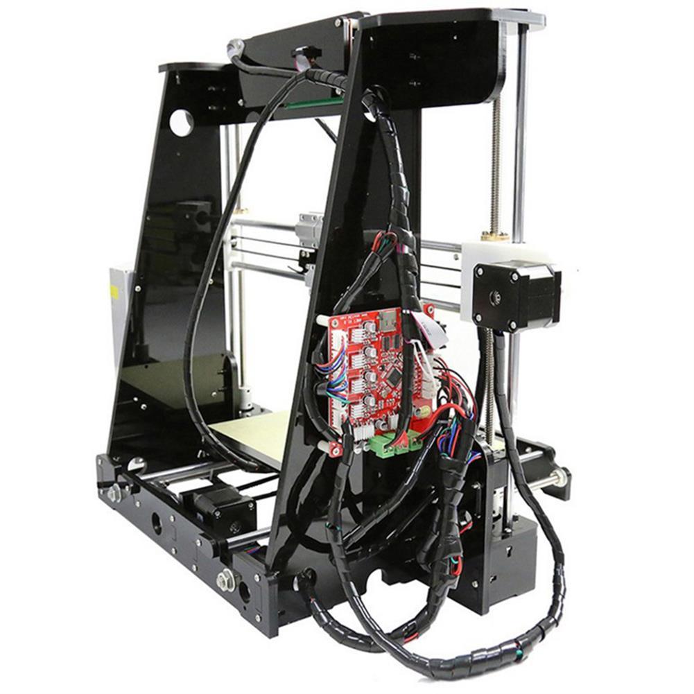 3d-printer 220W High Precision DIY 3D Printer Kit 220*220*240mm Printing Size 1.75mm 0.4mm Nozzle HOB1390828 1 1