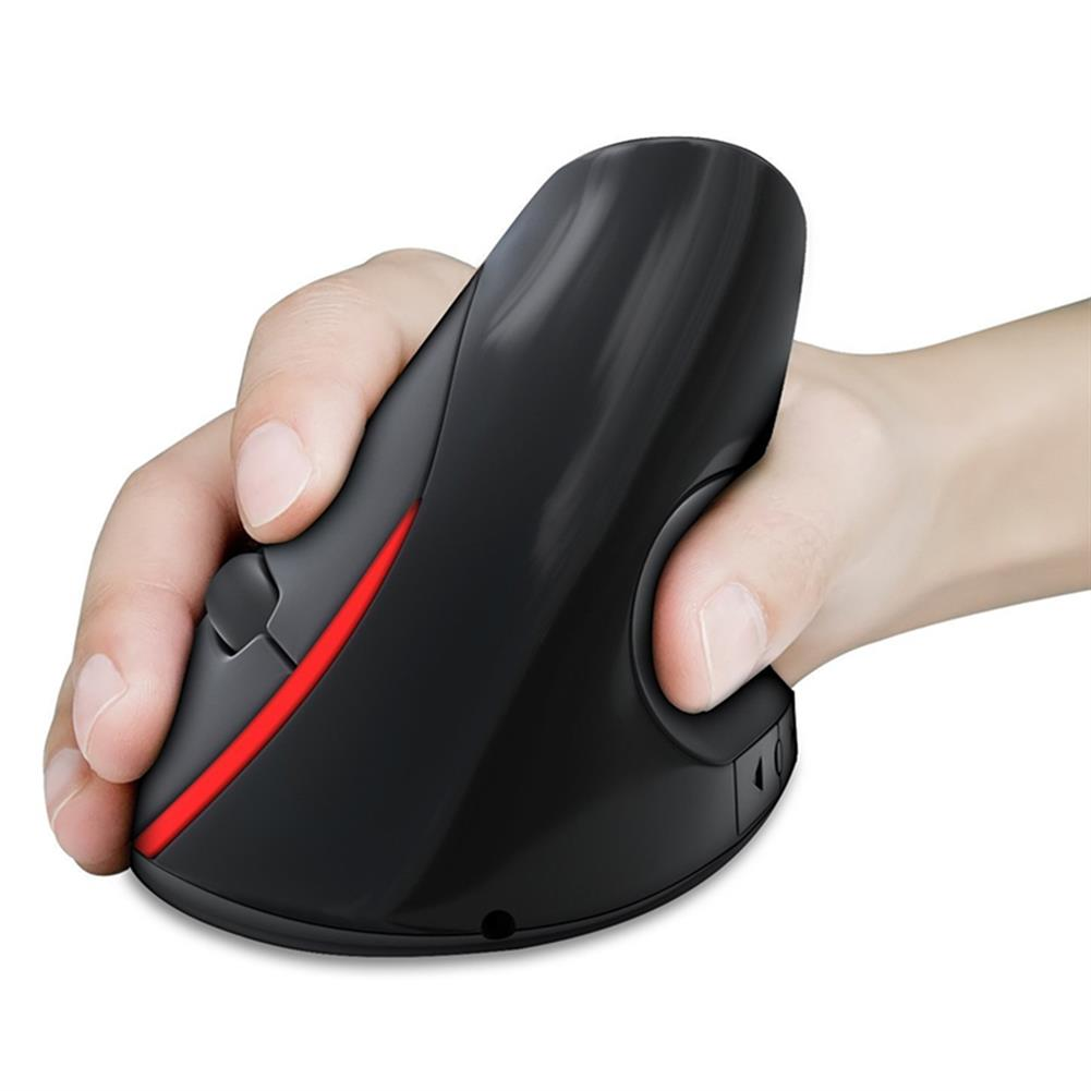 mouse HXSJ A889 2.4GHz Wireless Rechargeable Vertical Gaming Mouse Ergonomic Design 2400DPI Mice HOB1395978 1
