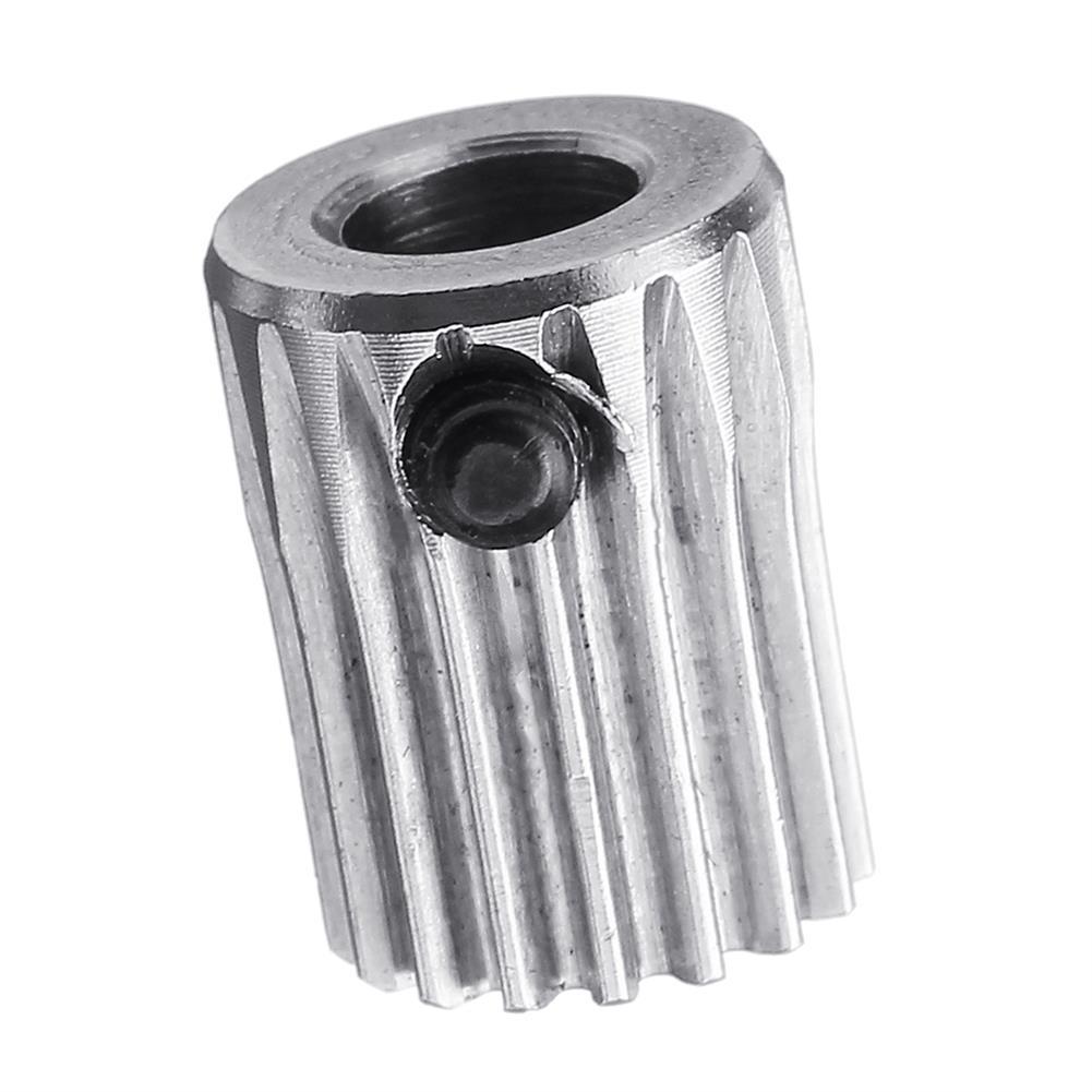 3d-printer-accessories 17 Teeth Stainless Steel Extruder Driver Feeding Wheel Gear for 3D Printer Accessories HOB1396215 3 1