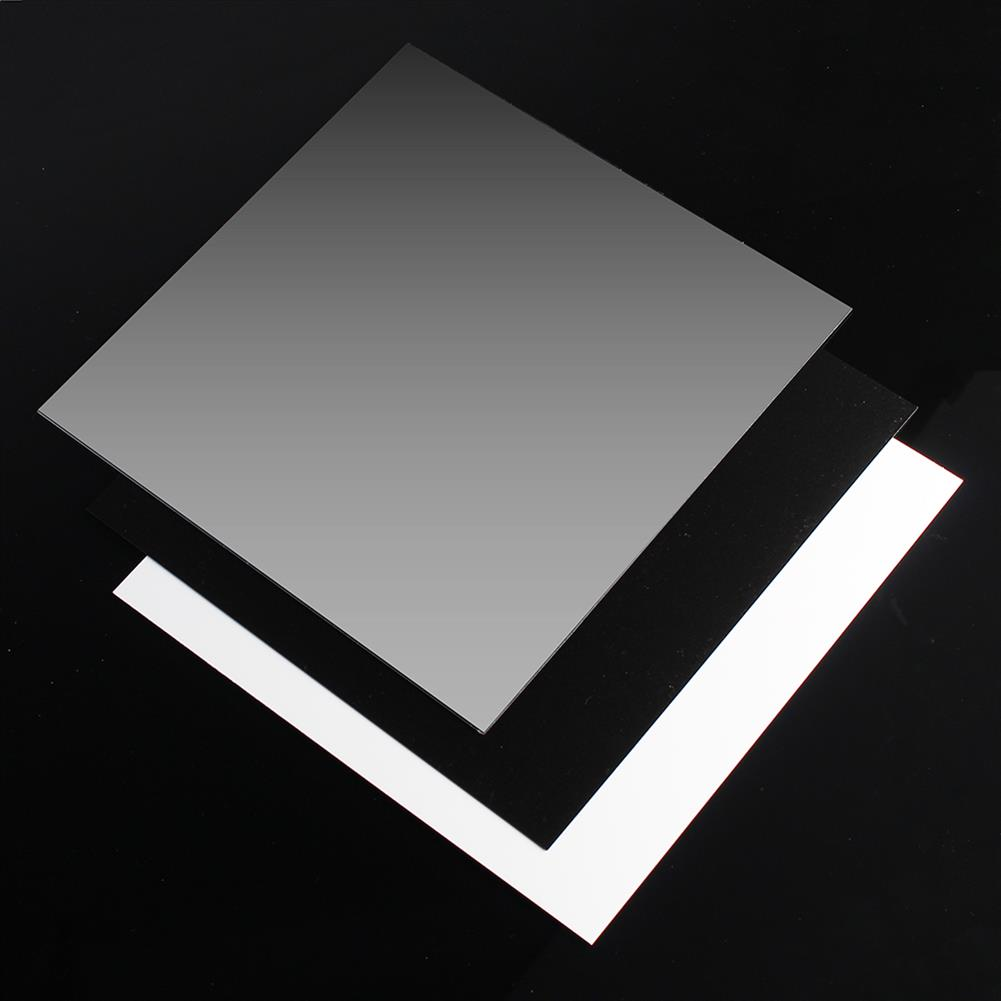 3d-printer-accessories 250*250*0.8mm Polyetherimide PEI Sheet with 3M Backing Glue for 3D Printer Heated Bed HOB1397053 1