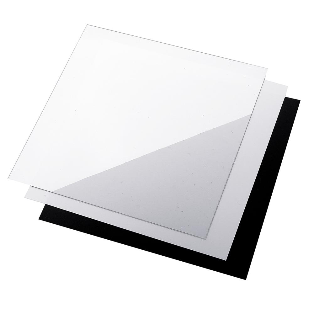 3d-printer-accessories 250*250*0.8mm Polyetherimide PEI Sheet with 3M Backing Glue for 3D Printer Heated Bed HOB1397053 1 1