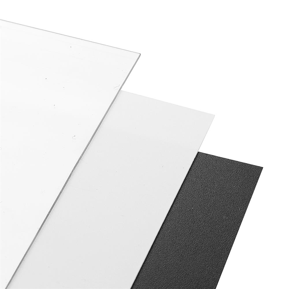 3d-printer-accessories 250*250*0.8mm Polyetherimide PEI Sheet with 3M Backing Glue for 3D Printer Heated Bed HOB1397053 3 1
