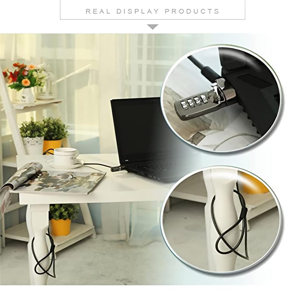 laptop-cable-lock Password Type Laptop Lock Soft Wire LCD Monitor Anti-theft Lock HOB1398118 1 1