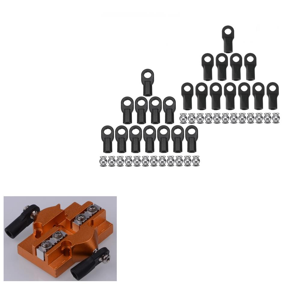 3d-printer-accessories M3/M4 Parallel Arm Carbon Rod Joint Ball Buckle Kit for Delta 3D Printer Part HOB1407156 1