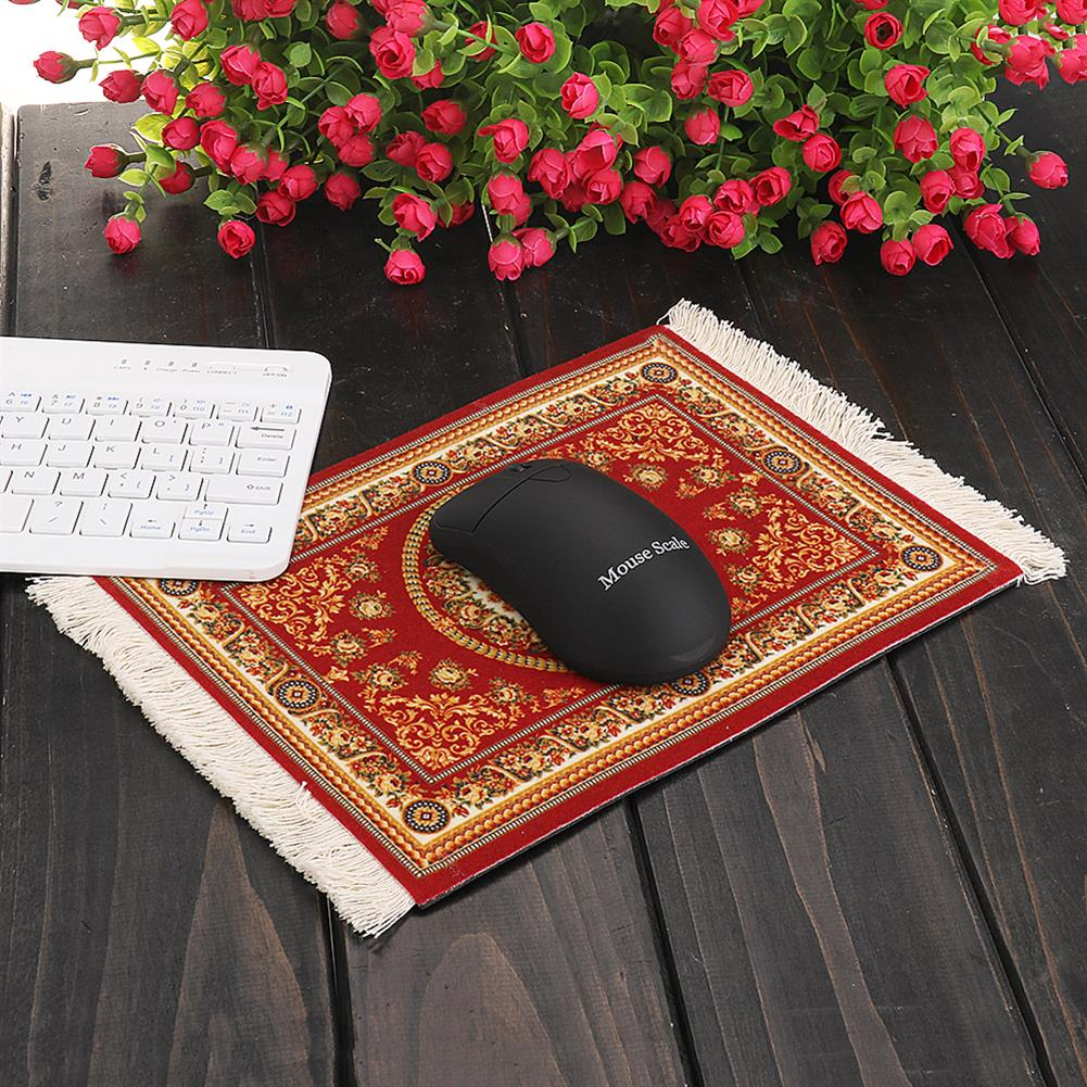 mouse-pads-keyboards-mouse 23x18cm Bohemia Style Persian Rug Mouse Pad for Desktop PC Laptop Computer 1 Gift HOB1409486 1 1
