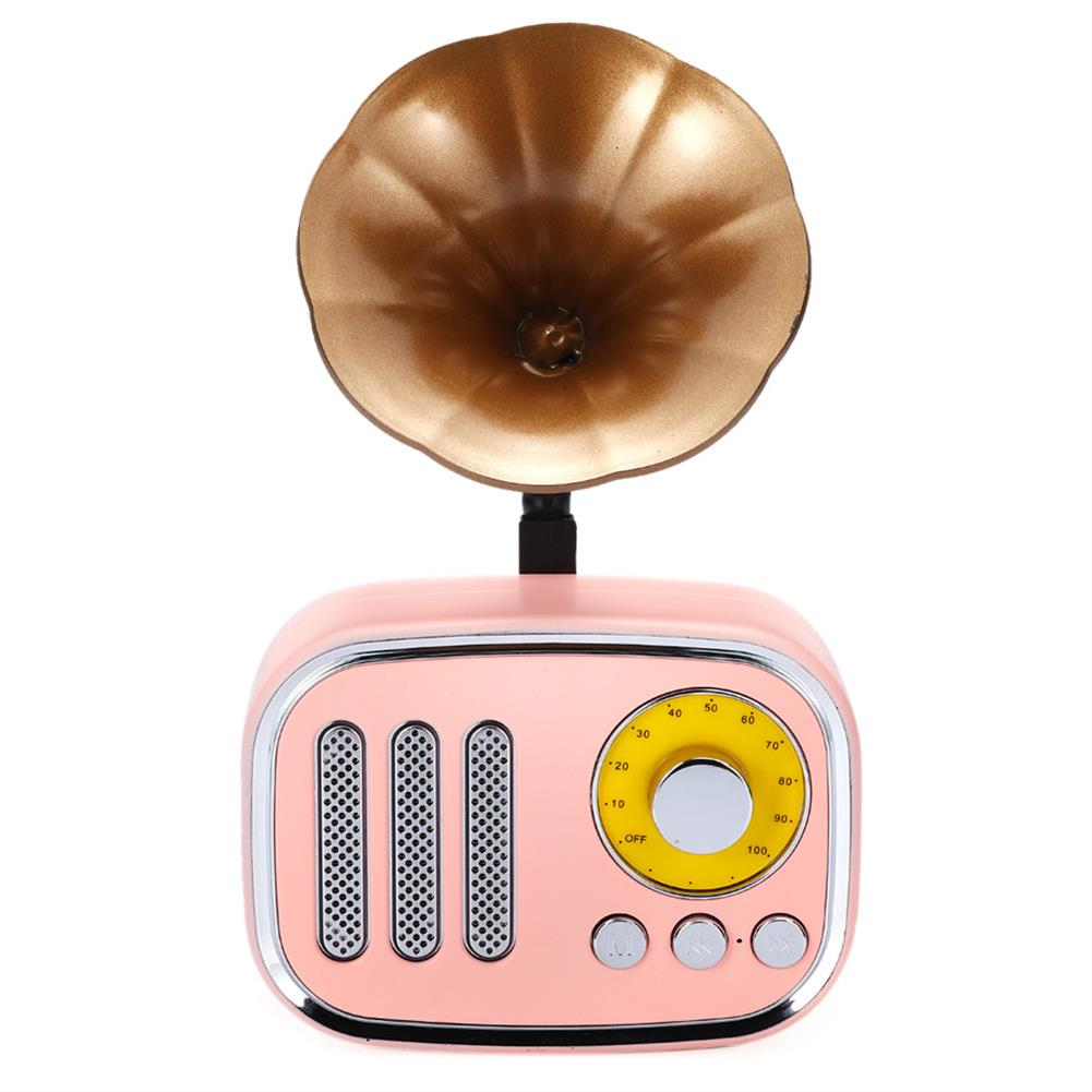 tablet-speakers-earphones 5W Phonograph bluetooth Speaker Support AUX play TF Card Play FM Radio HOB1415702 2 1