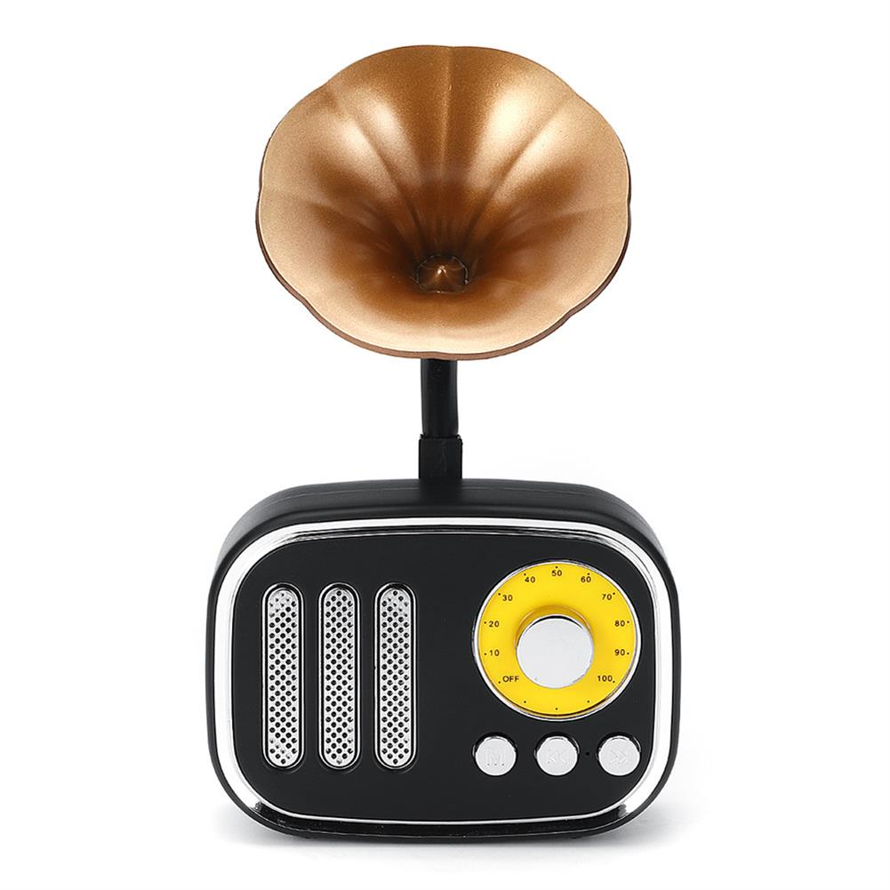 tablet-speakers-earphones 5W Phonograph bluetooth Speaker Support AUX play TF Card Play FM Radio HOB1415702 3 1