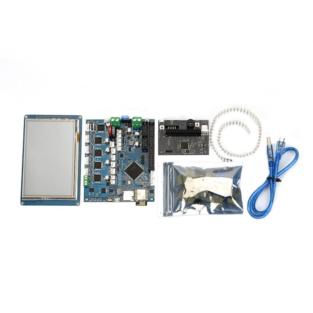 3d-printer-module-board Duet 2 Wifi V1.04 Cloned DuetWifi Advanced 32 Bit Electronic Mainboard with 5 inch PanelDue Touch Screen Controller for 3D Printer HOB1422518 1