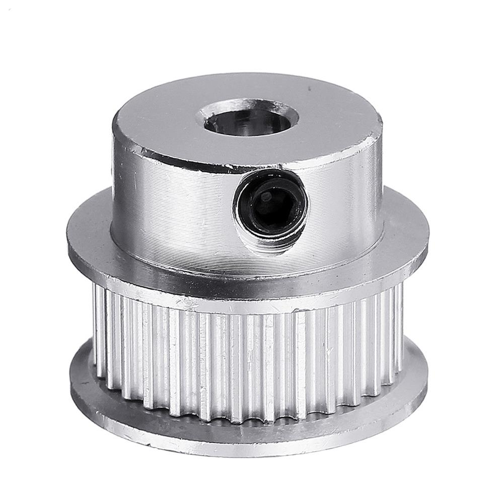 3d-printer-accessories P36-GT2-6-BF 36T 2GT Aluminum Timing Pulley 5mm inner Bore for 6mm Width Timing Belt HOB1423220 1 1