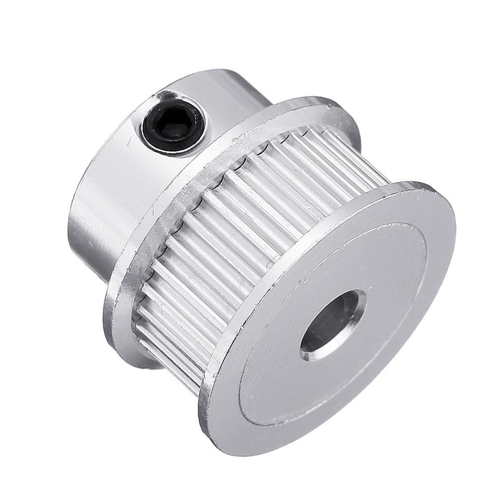 3d-printer-accessories P36-GT2-6-BF 36T 2GT Aluminum Timing Pulley 5mm inner Bore for 6mm Width Timing Belt HOB1423220 3 1