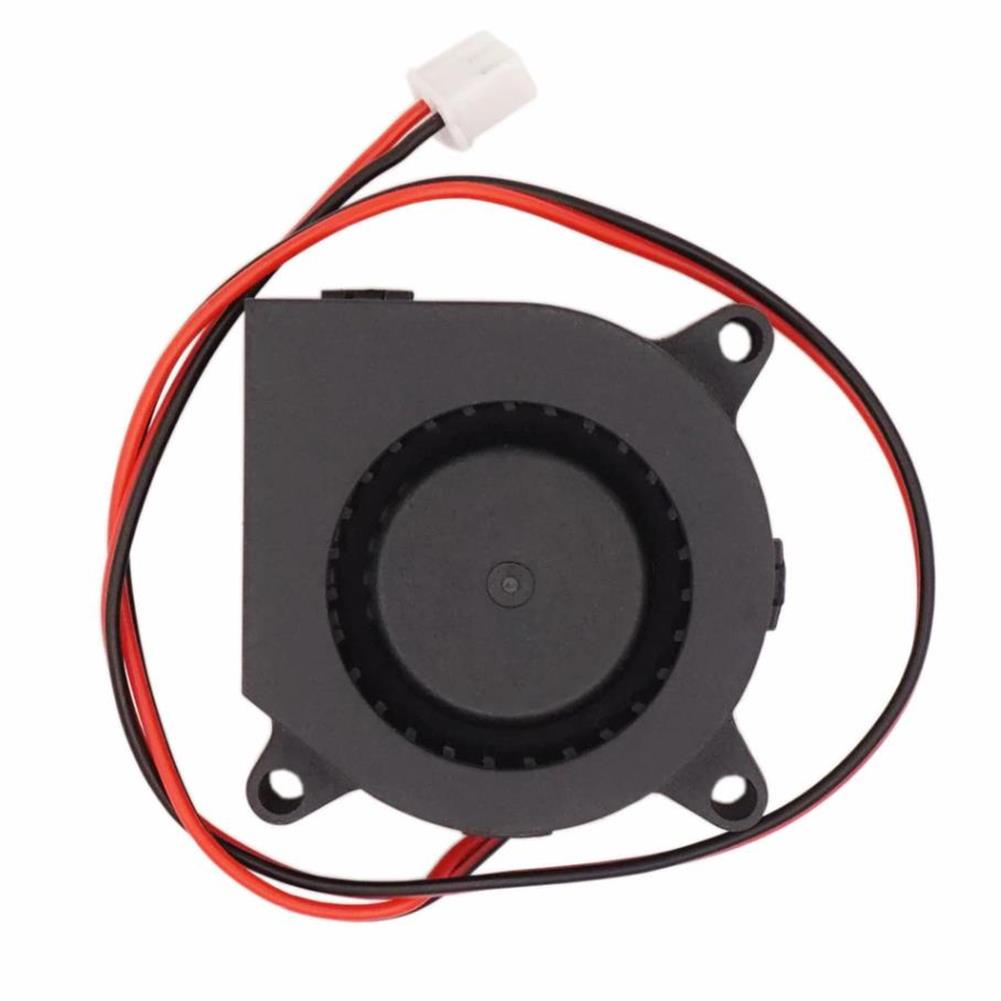 3d-printer-accessories DC 12v 4020 Brushless Sleeve Bearing Turbo Blower Cooling Fan with XH2.54-2P Cable HOB1425580 1