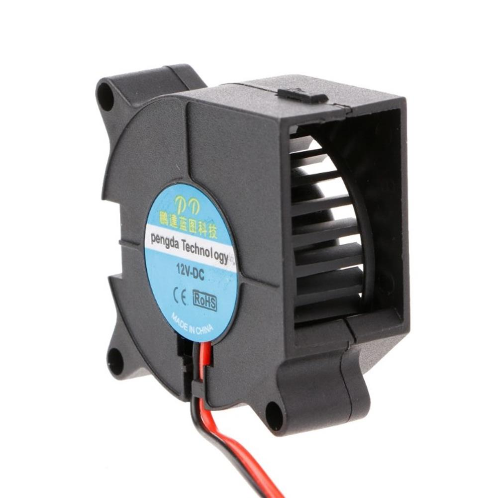 3d-printer-accessories DC 12v 4020 Brushless Sleeve Bearing Turbo Blower Cooling Fan with XH2.54-2P Cable HOB1425580 3 1