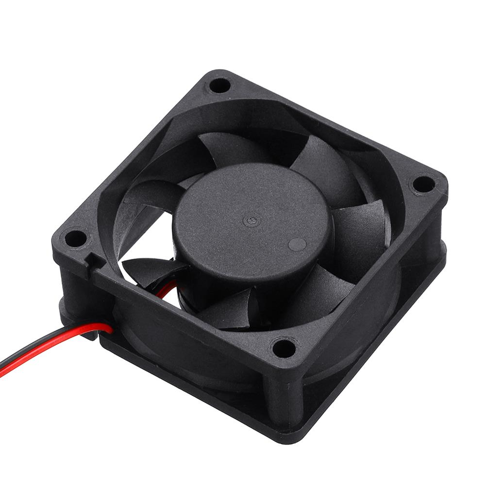 3d-printer-accessories 12v 6025 60*60*25mm Cooling Fan with 2Pin Cable for 3D Printer HOB1426966 2 1