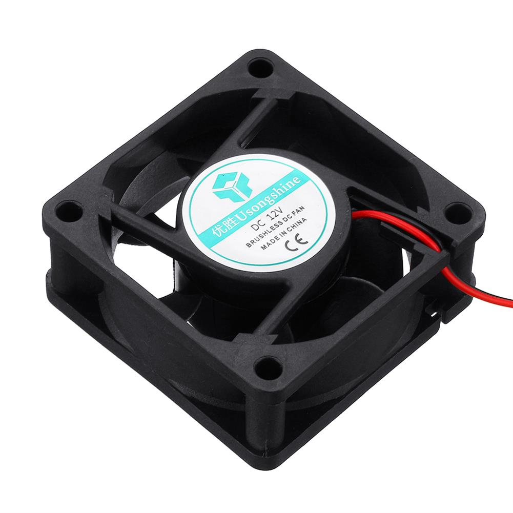 3d-printer-accessories 12v 6025 60*60*25mm Cooling Fan with 2Pin Cable for 3D Printer HOB1426966 3 1