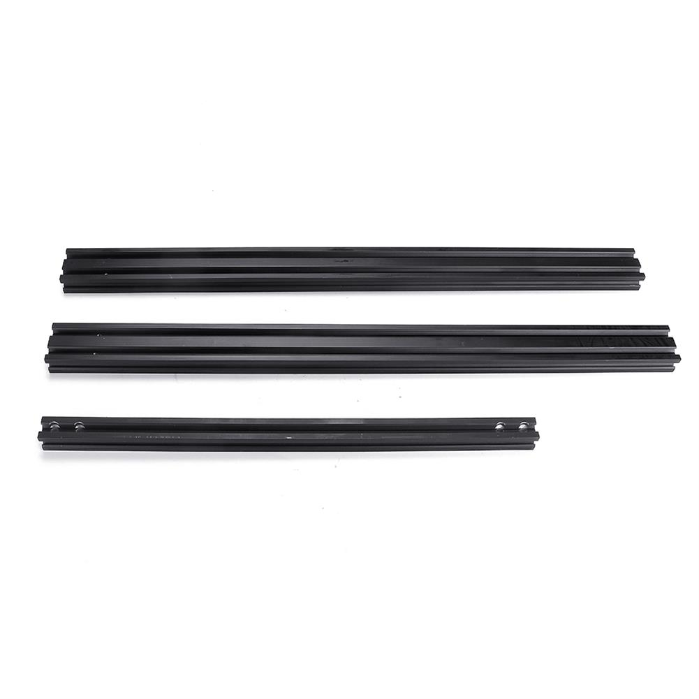 3d-printer-accessories Creality 3D Black 2020 V-Slot Aluminum Bottom Profile Frame for CR-10S PRO/CR-X 3D Printer Part HOB1428310 2 1