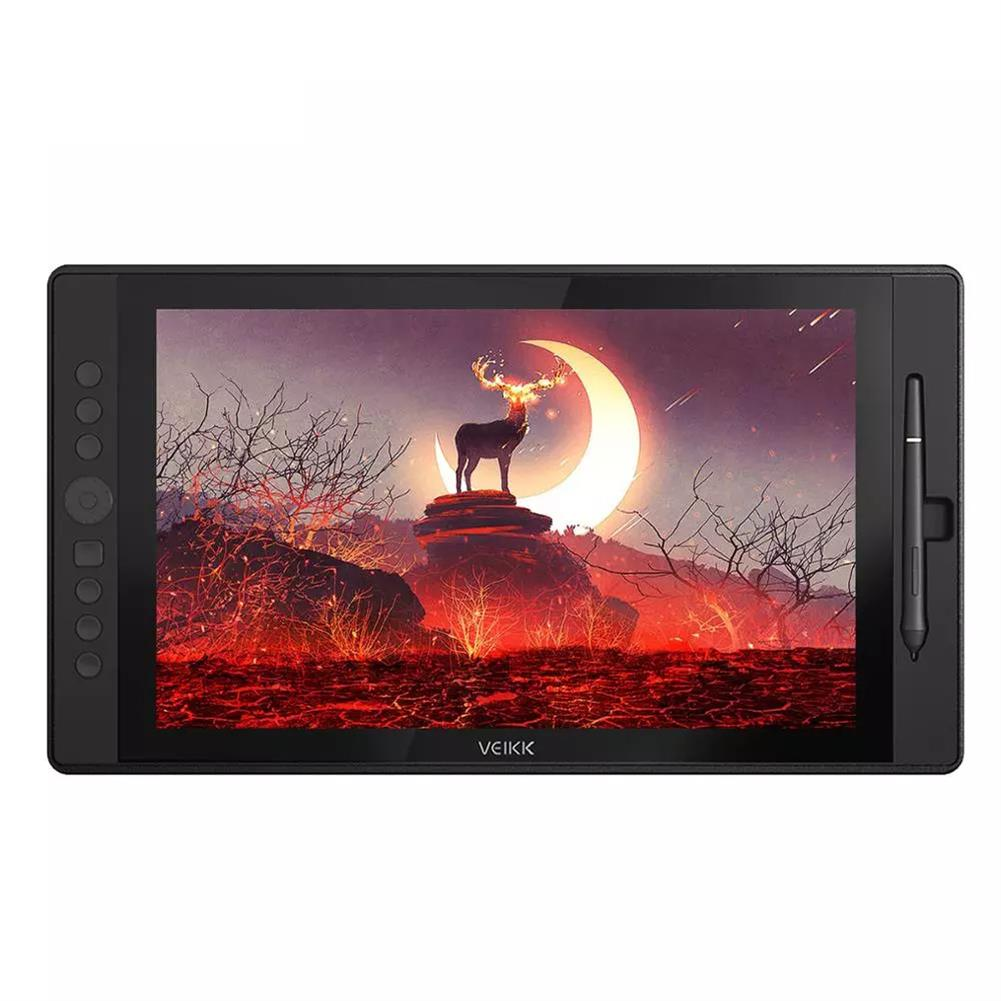 graphics-tablets VEIKK VK1560 15.6 inch Digital Tablet LCD IPS Drawing Monitor Graphics Tablet Drawing Board HOB1428607 1
