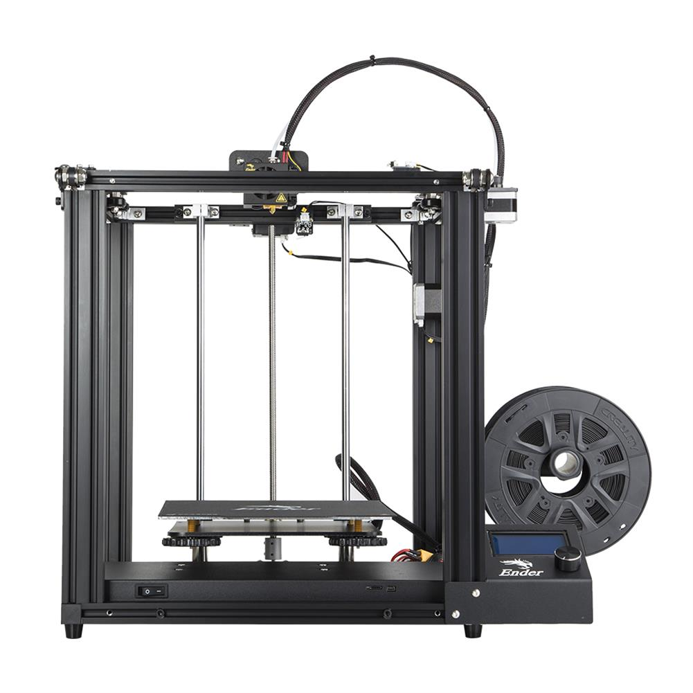 3d-printer Creality 3D Ender-5 DIY 3D Printer Kit 220*220*300mm Printing Size with Resume Print Dual Y-Axis Motor Soft Magnetic Sticker Support off-line Print HOB1437021 1 1