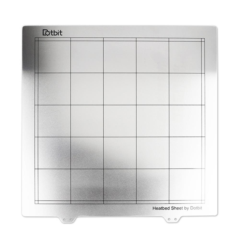 3d-printer-accessories-300*300mm Spring Steel Sheet Heated Bed Platform 3D Printer Build Plate for Magnetic Sticker-HOB1439146 1