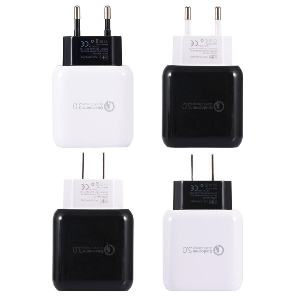 tablet-chargers US EU Q6 Quick Charger 3.0 USB Charger Power Adapter for Smartphone Tablet PC HOB1446470 1