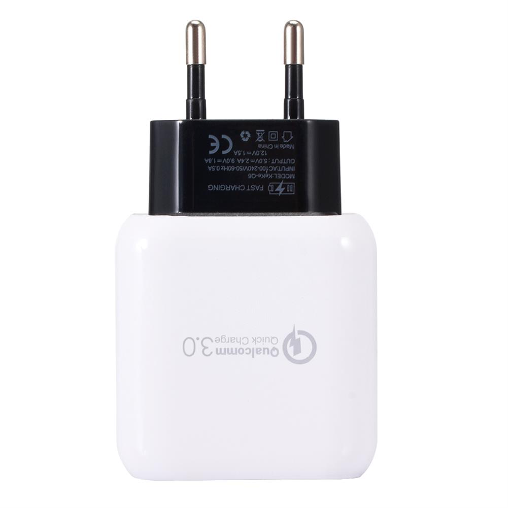tablet-chargers US EU Q6 Quick Charger 3.0 USB Charger Power Adapter for Smartphone Tablet PC HOB1446470 1 1