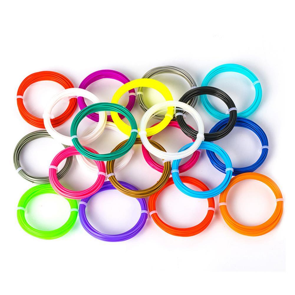 3d-printer-filament 3.0mm 10M/Pack 20Colors ABS Filament for Children 3D Printing Pen DIY Part HOB1447777 1