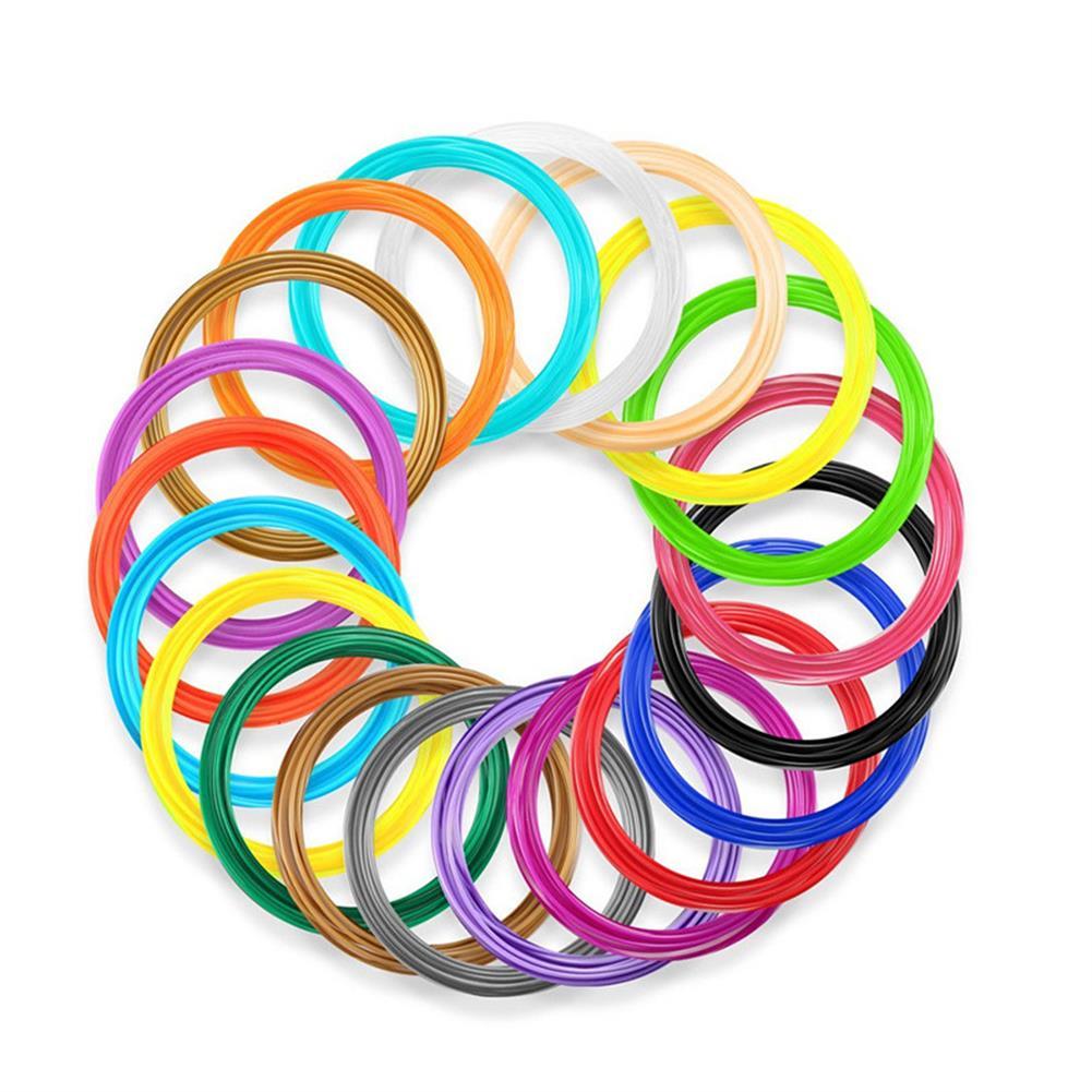 3d-printer-filament 3.0mm 10M/Pack 20Colors ABS Filament for Children 3D Printing Pen DIY Part HOB1447777 1 1