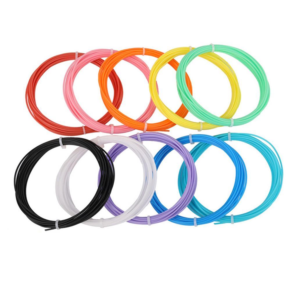 3d-printer-filament 3.0mm 10M/Pack 20Colors ABS Filament for Children 3D Printing Pen DIY Part HOB1447777 2 1