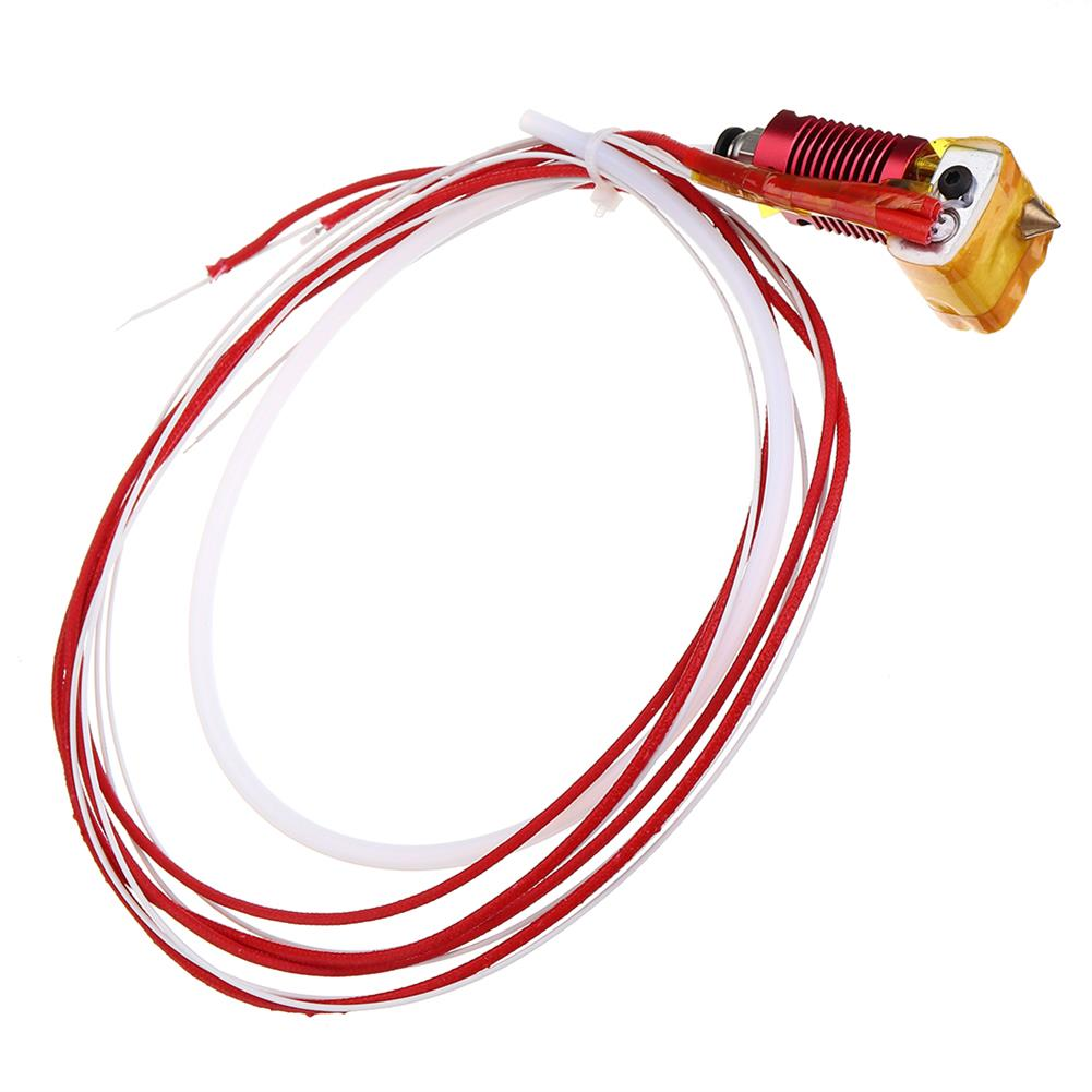 3d-printer-accessories 12V / 24V 40W Extruder Hot End Kit 1.75mm 0.4mm Nozzle for Creality 3D CR-10 3D Printer HOB1448314 1 1
