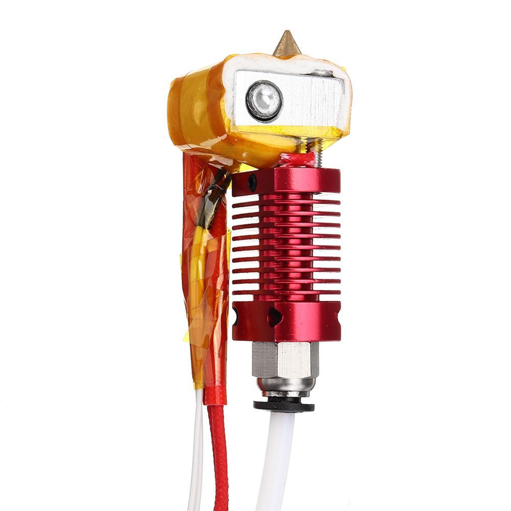 3d-printer-accessories 12V / 24V 40W Extruder Hot End Kit 1.75mm 0.4mm Nozzle for Creality 3D CR-10 3D Printer HOB1448314 2 1