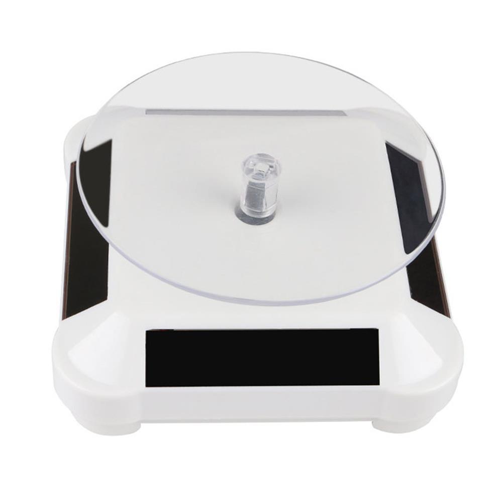 3d-printer-accessories White/Black 360 Turntable Solar Rotary Table for SLA/DLP UV Resin 3D Printing Model Show HOB1453922 3 1