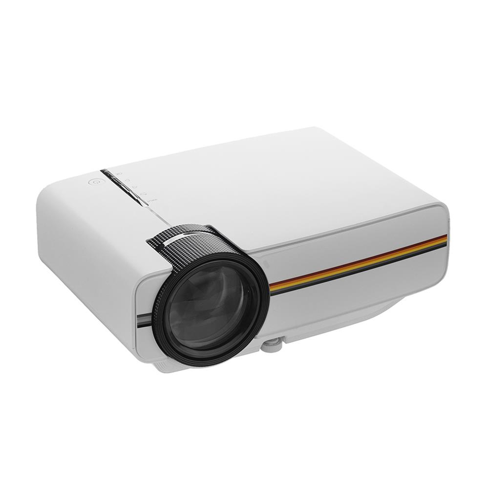 projectors-theaters AAO YG400 Portable LCD Projector 1080P 1200 lumens 800*480 Resolution Remote Control Projector Home theater HOB1455205 1