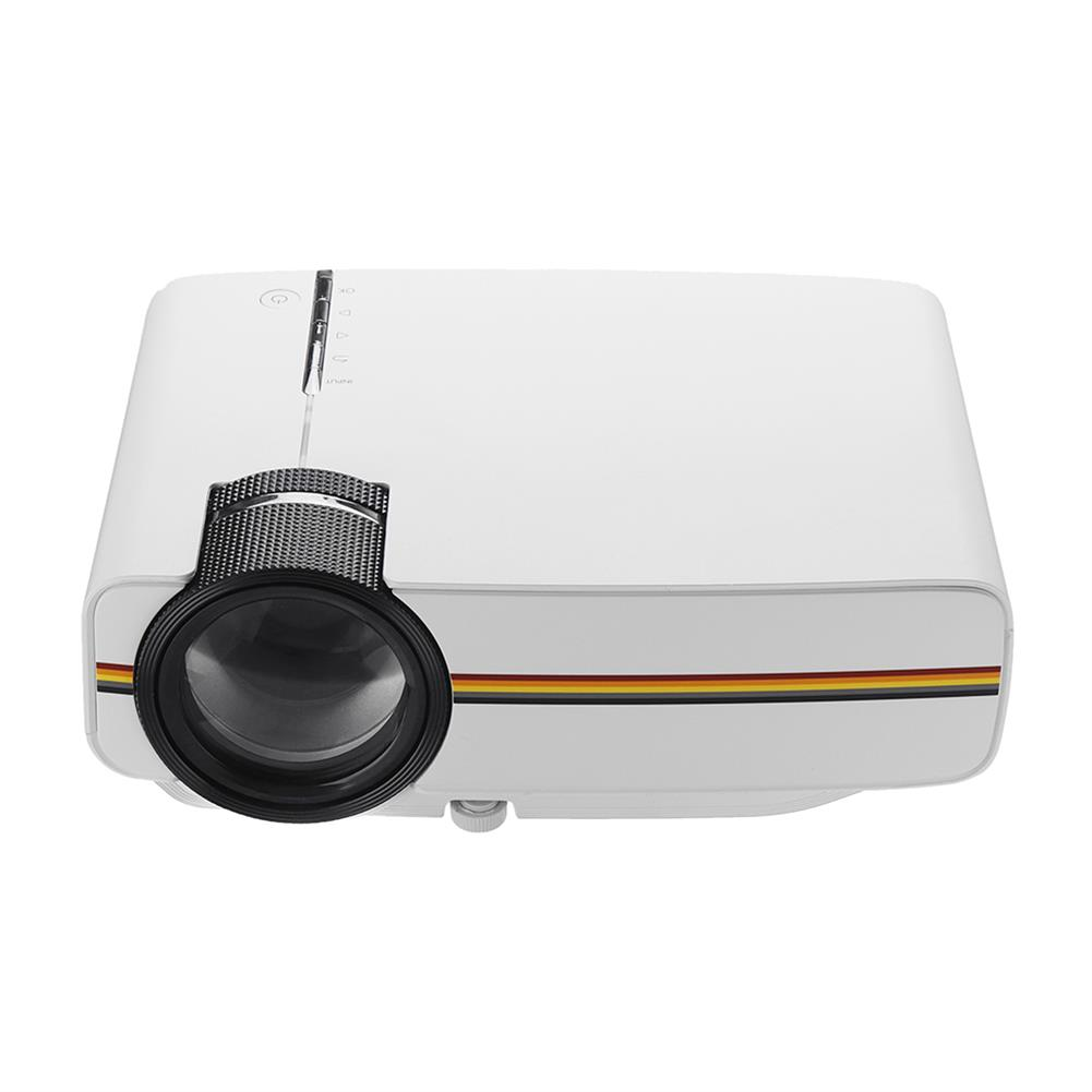projectors-theaters AAO YG400 Portable LCD Projector 1080P 1200 lumens 800*480 Resolution Remote Control Projector Home theater HOB1455205 1 1