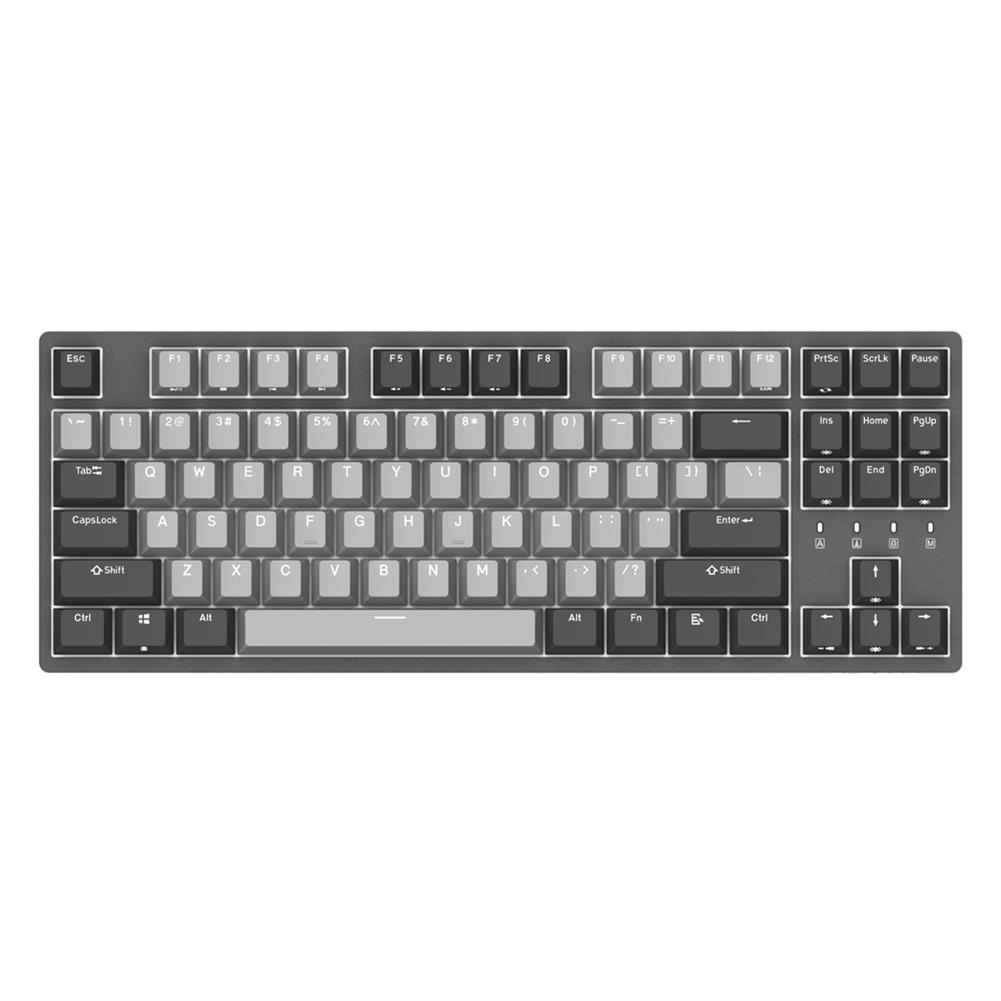 mechanical-gaming-keyboard DURGOD K320 87 Keys Mechanical Gaming Keyboard Corona Cherry MX Switch PBT Keycaps Mechanical Keyboard HOB1456620 1