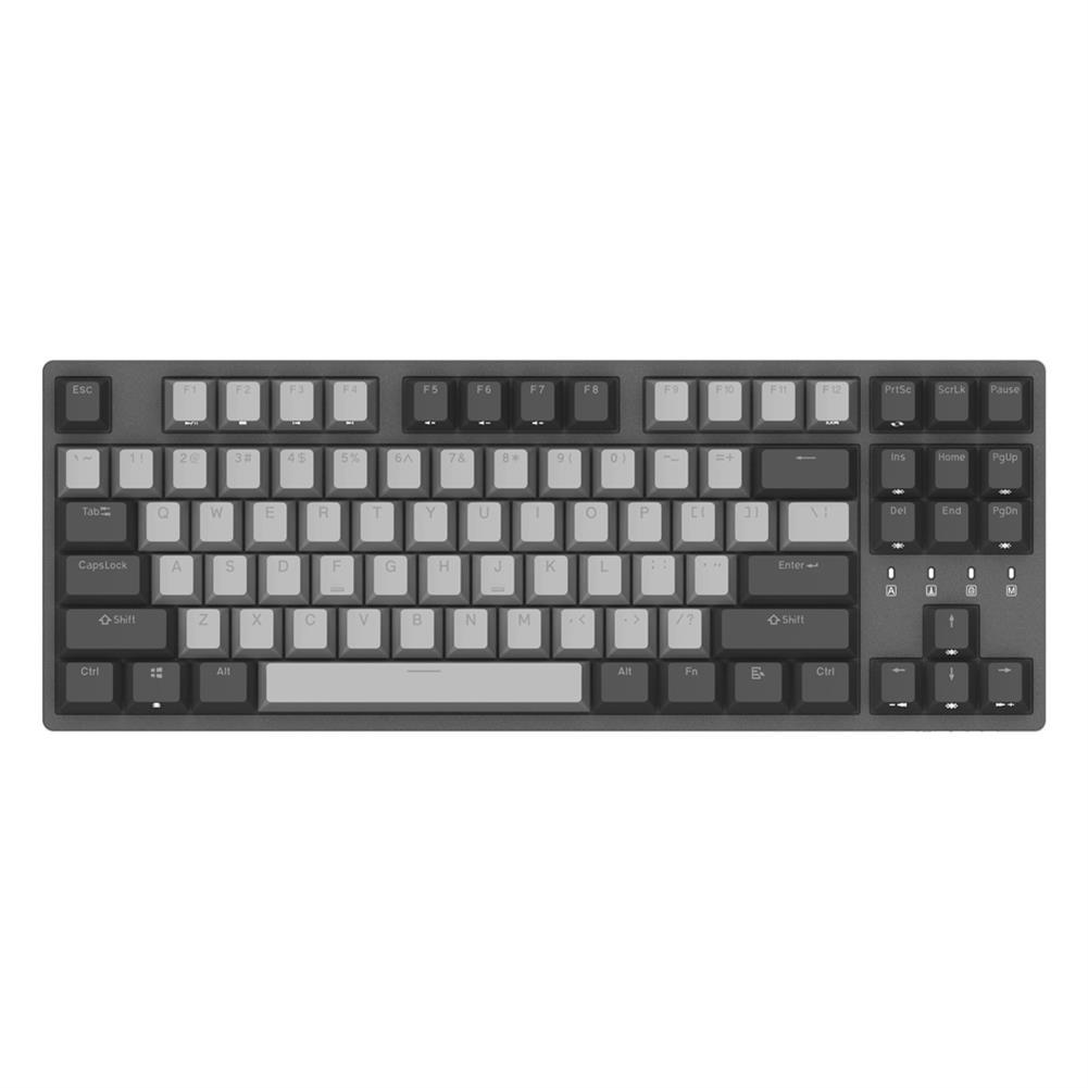 mechanical-gaming-keyboard DURGOD K320 87 Keys Mechanical Gaming Keyboard Corona Cherry MX Switch PBT Keycaps Mechanical Keyboard HOB1456620 1 1