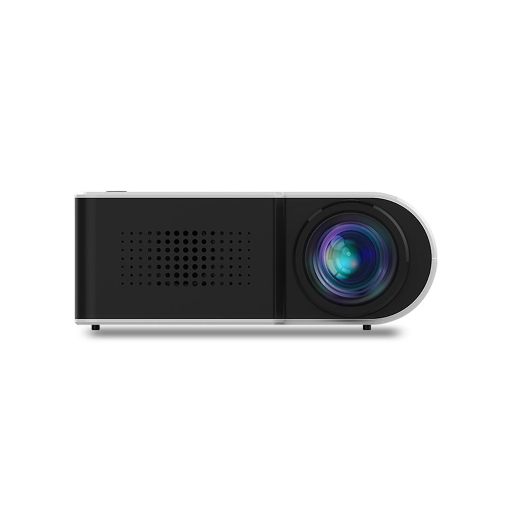 projectors-theaters Yg210 1080P Led Mini Projector Contrast 800:1 Supports Resolution 1920*1080 Resolution 320*240 3D Home theater Projector-White HOB1457474 1 1