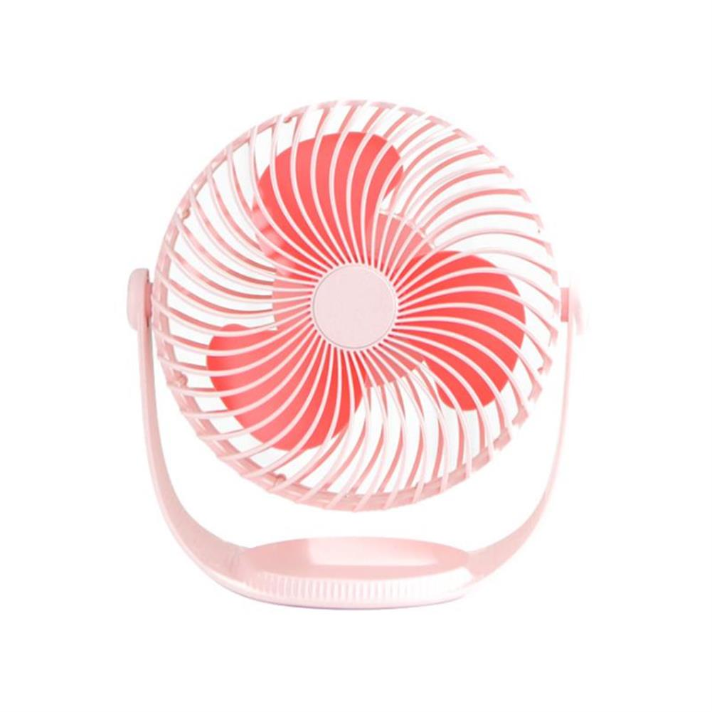 other-learning-office-supplies Well Star WT-F12 Portable Mini USB Fan Air Cooling Fan 360 Rotating Fan Chargable Air Cooler Silent Cooling Fans with USB Cable for Home office Student Dormitory Outdoors HOB1458311 1
