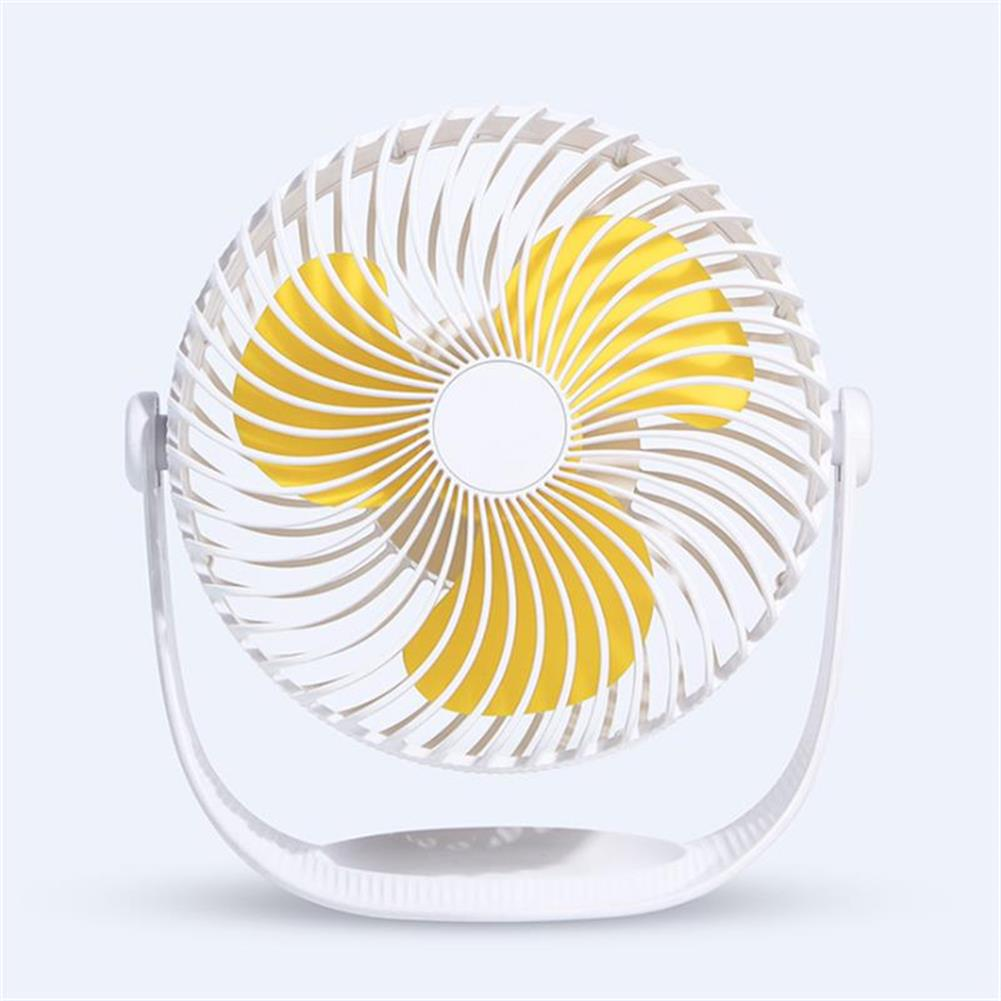other-learning-office-supplies Well Star WT-F12 Portable Mini USB Fan Air Cooling Fan 360 Rotating Fan Chargable Air Cooler Silent Cooling Fans with USB Cable for Home office Student Dormitory Outdoors HOB1458311 1 1
